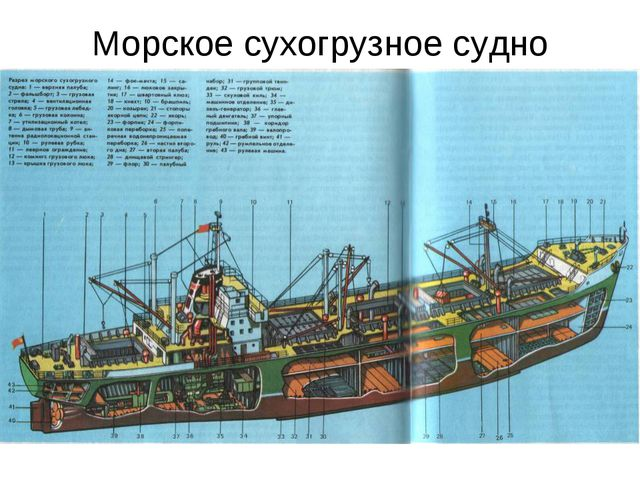 Морское сухогрузное судно