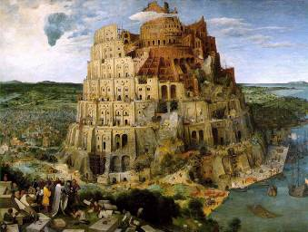 питер брейгель вавилонская башня 1560