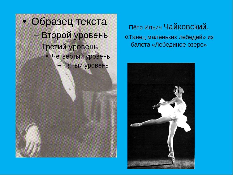 Пётр Ильич Чайковский. «Танец маленьких лебедей» из балета «Лебединое озеро»