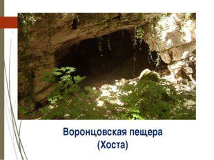Воронцовская пещера (Хоста) http://personasochi.ru/_pu/0/63543545.jpg
