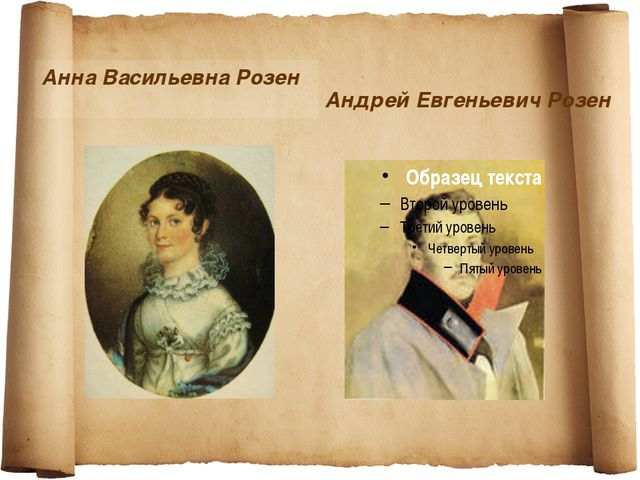 Андрей Евгеньевич Розен Анна Васильевна Розен
