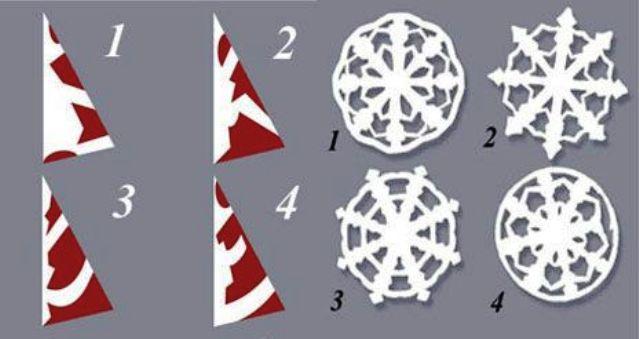 Как сделать снежинку