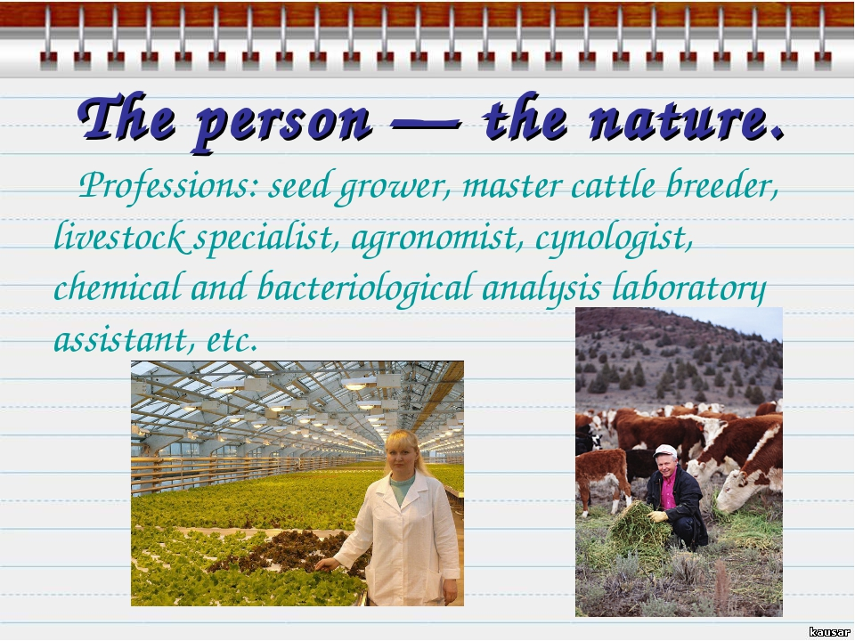 The person — the nature. Professions: seed grower, master cattle breeder, liv...