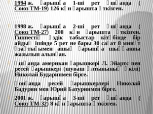 Қазақтың қара баласы Талғат Мұсабаев ғарышқа қасиетті Құран кітапты, туған же