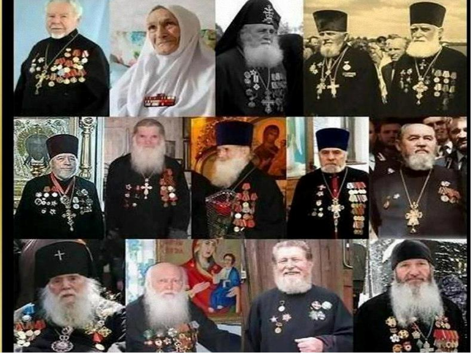 За что же удостоены священнослужители воинских наград? Эти пастыри руководил...