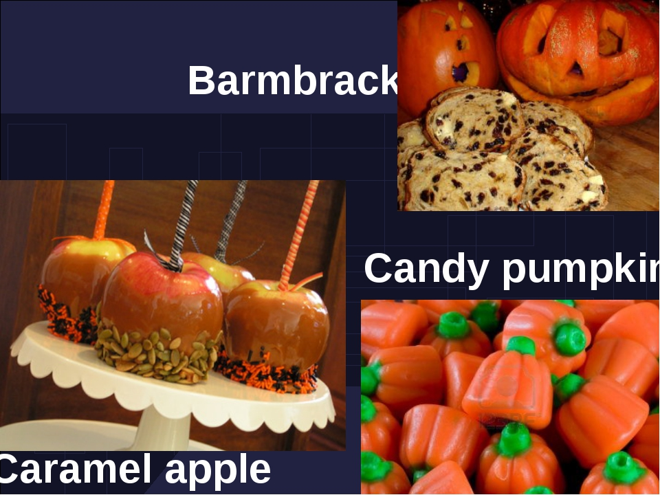 Caramel apple Barmbrack Candy pumpkin
