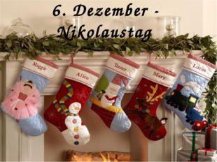 6. Dezember - Nikolaustag