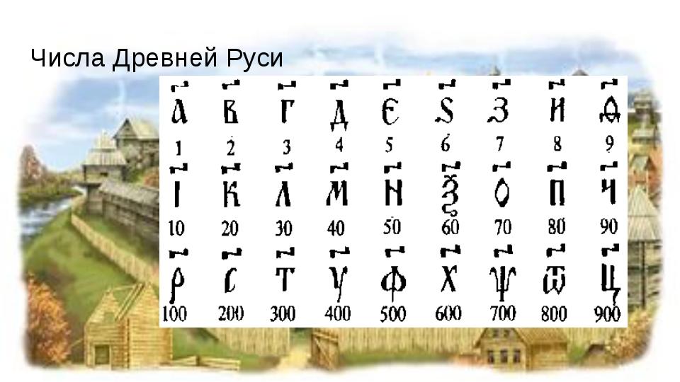 другая запись чисел в древней руси этой статье узнаете