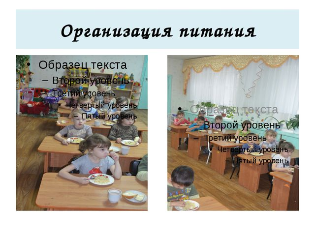 Организация питания