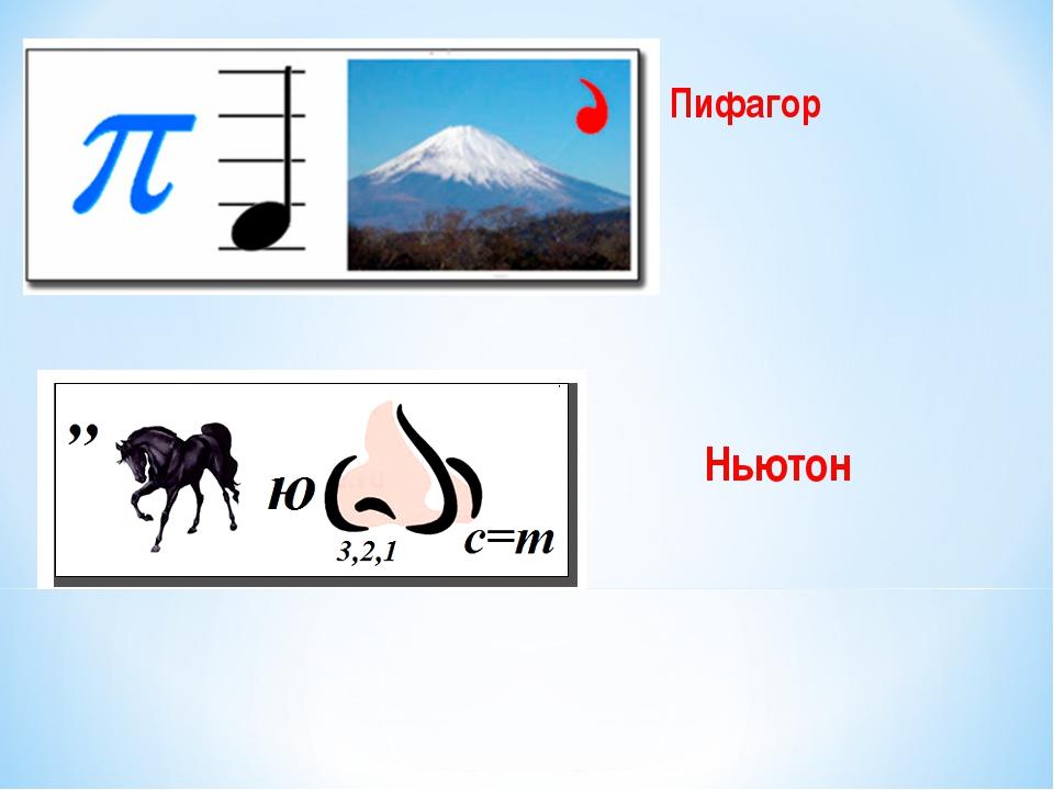 Пифагор Ньютон