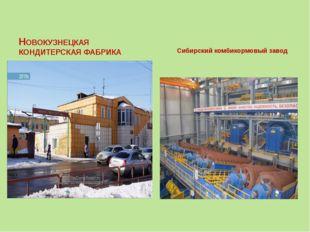 НОВОКУЗНЕЦКАЯ КОНДИТЕРСКАЯ ФАБРИКА Сибирский комбикормовый завод