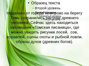 Недалеко от города Кемерово на берегу Томь сохранились рисунки древнего челов