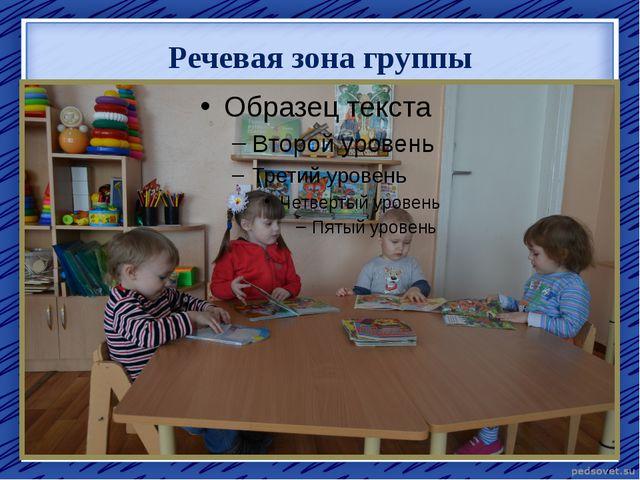 Речевая зона группы