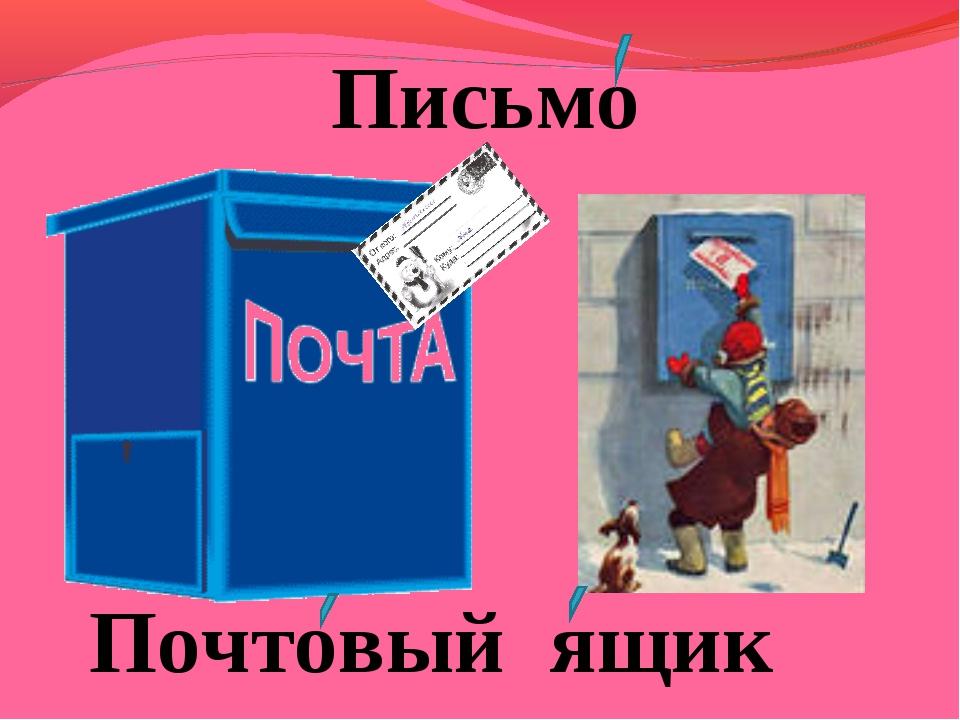 Письмо Почтовый ящик
