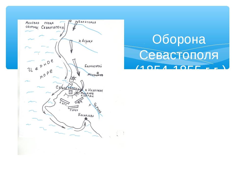 Оборона Севастополя (1854-1855 г.г.)