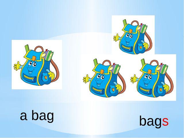 a bag bags
