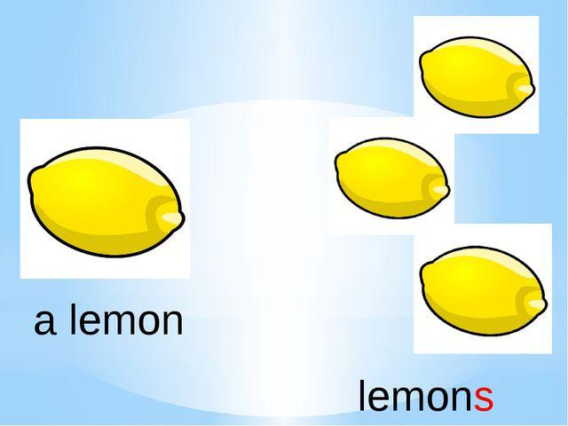 a lemon lemons