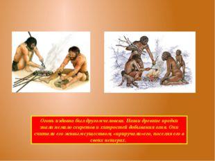 Огонь издавна был другом человека. Наши древние предки знали немало секретов