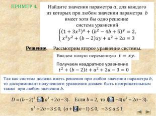0 В этом случае уравнение будет иметь единственный корень Подставим это значе