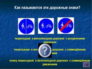 пешеходная и велосипедная дорожка с разделением движения пешеходная и велосип