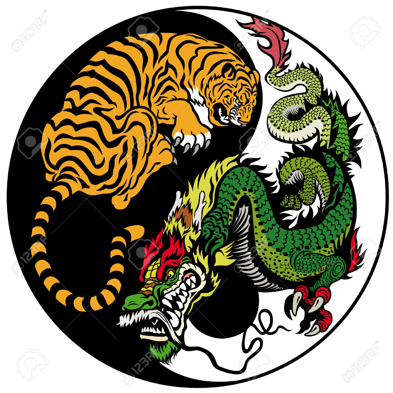 http://previews.123rf.com/images/insima/insima1311/insima131100013/24019088-dragon-and-tiger-yin-yang-symbol-of-harmony-and-balance-Stock-Vector.jpg
