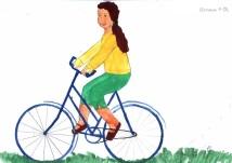 на велосипеде - Владимир Николаевич Русаков
