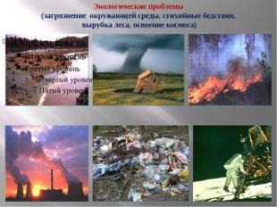 Экологические проблемы (загрязнение окружающей среды, стихийные бедствия, выр