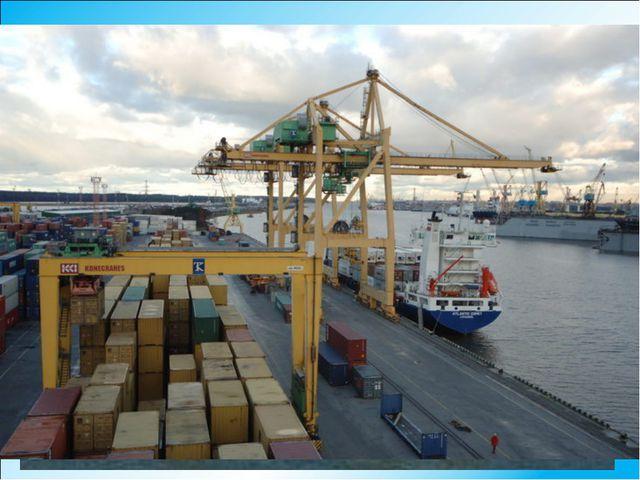Клайпеда – главный морской порт и база рыболовного флота