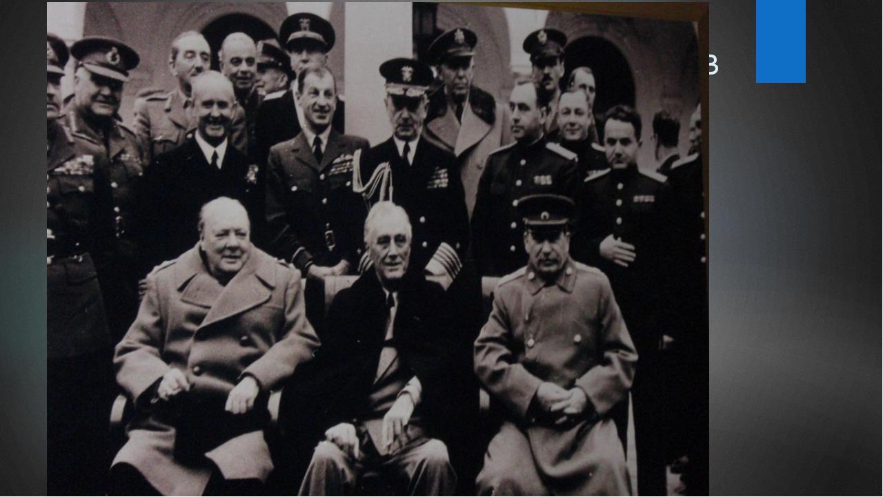 Эти лидеры государств принимали участие в Ялтинской конференции. Сталин, Рузв...