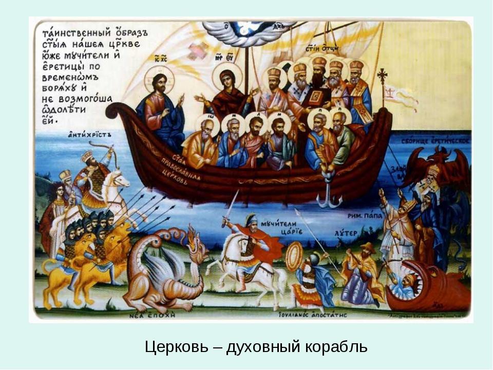 Церковь – духовный корабль