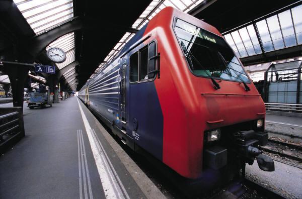 Рисунок поезда на вокзале