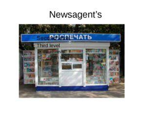 Newsagent's