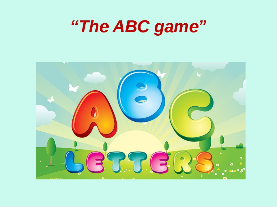 """""""The ABC game"""""""