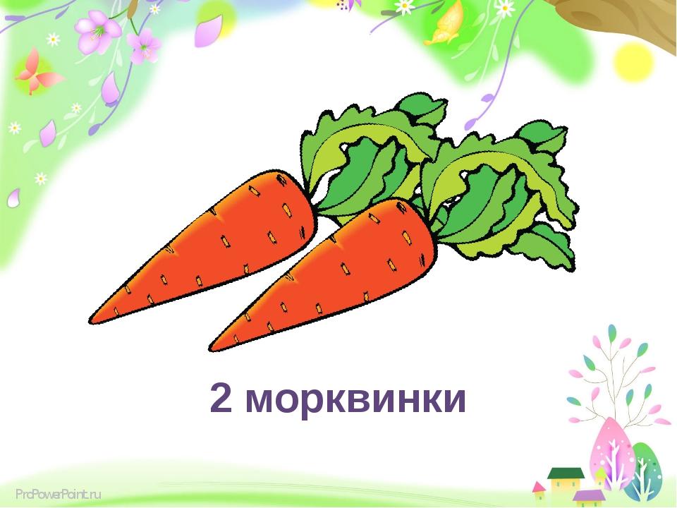 2 морквинки ProPowerPoint.ru