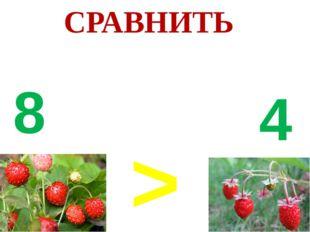 > 8 4 СРАВНИТЬ