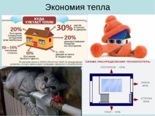 Экономия тепла