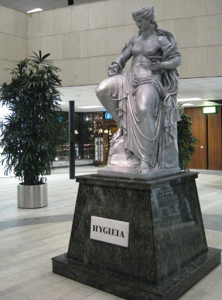 Фото богиня Гигея