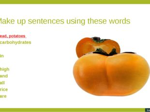 Make up sentences using these words. The industries the food city more needs