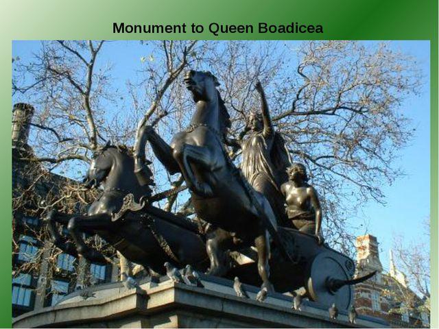 Monument to Queen Boadicea
