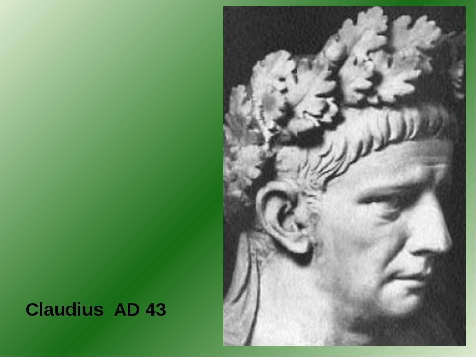 Claudius AD 43