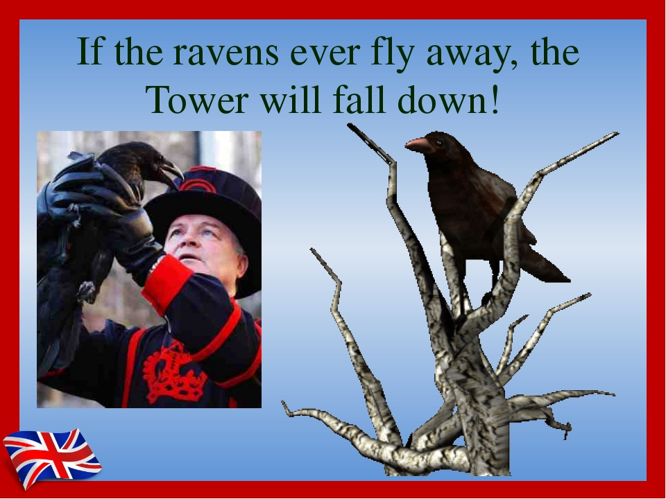 If the ravens ever fly away, the Tower will fall down!