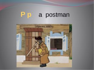 P p a postman