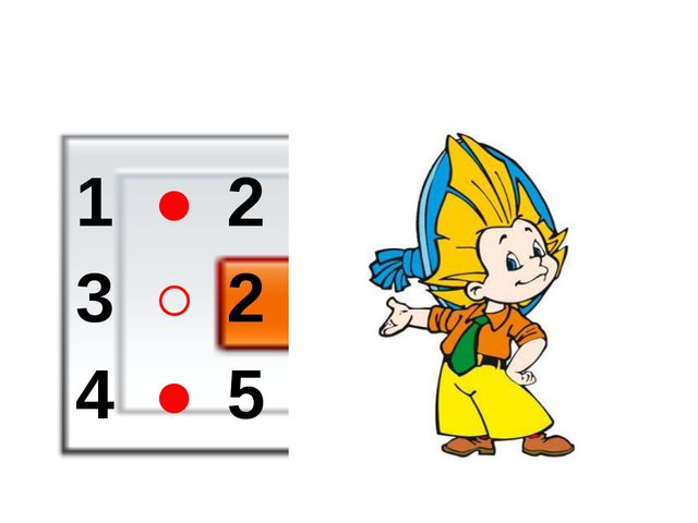 1 ˃ 2 3 ˂ 2 4 ˃ 5
