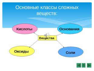 Оксиды – это сложные вещества, состоящие из двух химических элементов, один и
