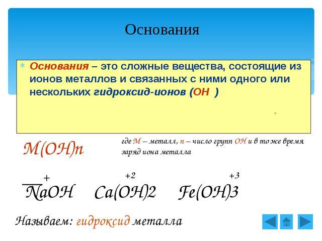 Щелочи образованы металлами I группы гл. подгруппы, II группы главной подгру...