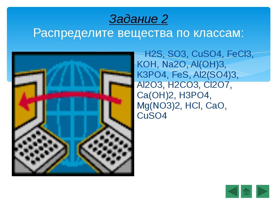 Проверьте себя: Оксиды Кислоты Основания Соли SO3 Na2O Al2O3Cl2O7CaO H2S H2CO...