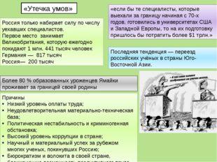 «Утечка умов» Россия только набирает силу по числу уехавших специалистов. Пер