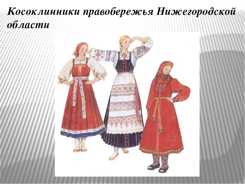 Косоклинники правобережья Нижегородской области Прямая противоположность – к...