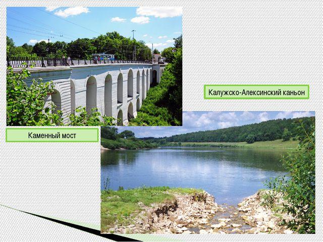 Каменный мост Калужско-Алексинский каньон