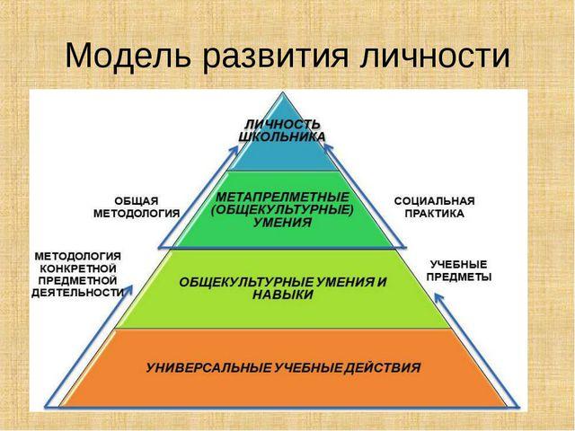 Модель развития личности